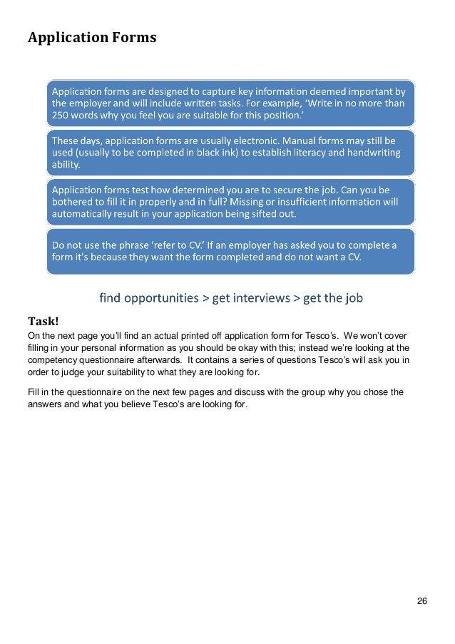 Job Club Booklet