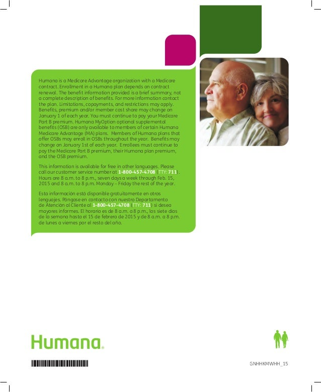 Humana 2015 MA Enrollment Guide