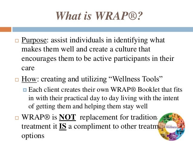 Wellness Toolbox Worksheet Wellness Recovery Action Plan ...