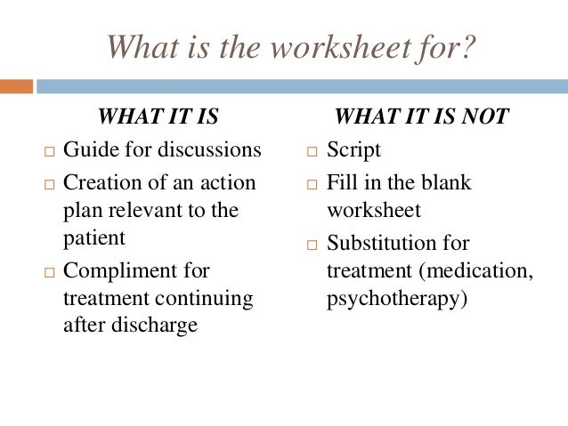 Worksheets Wellness Recovery Action Plan Worksheet wellness recovery action post crisis plan wrap worksheet 5