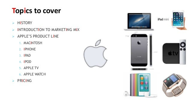 Apple Marketing Mix: 4P's