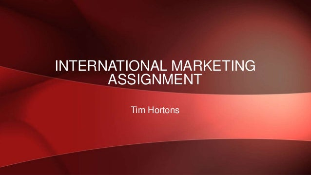Marketing Assignment Sample on International Marketing Audit and Plan