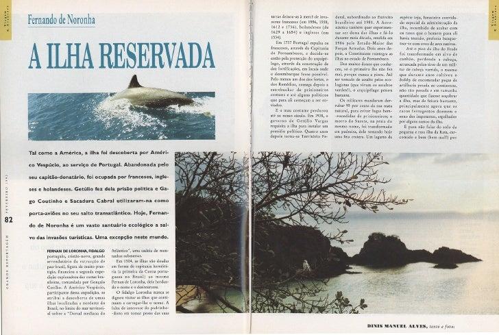 Fernando de Noronha – A ilha reservada