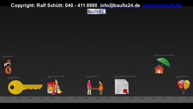 Copyright: Ralf Schütt: 040 - 411 8980 info@baufix24.de www.baufix24.de
