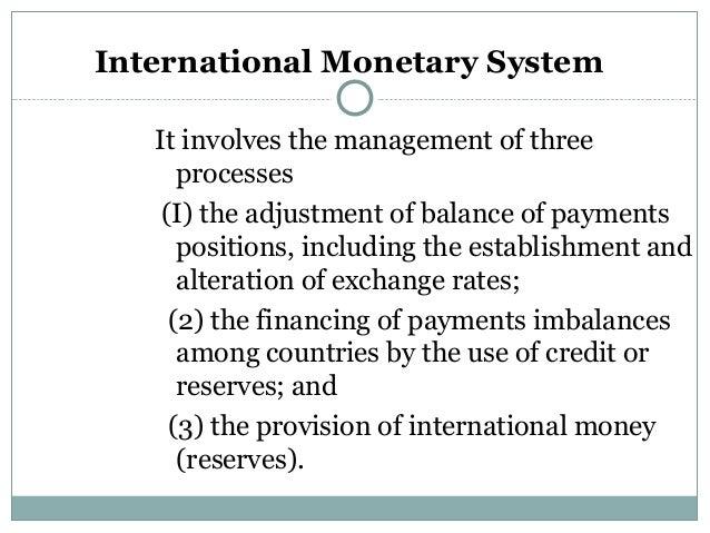 International currency market