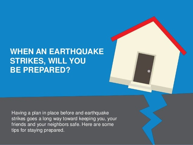 Earthquake Preparedness Infographic