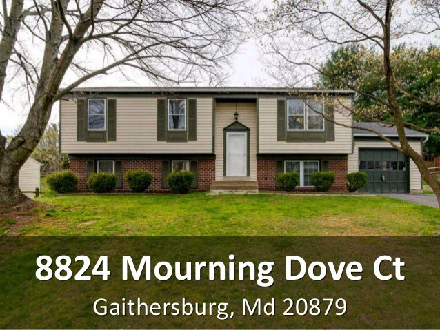 Gaithersburg, Md 20879 8824 Mourning Dove Ct