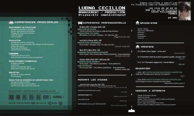 cv lubna production fr
