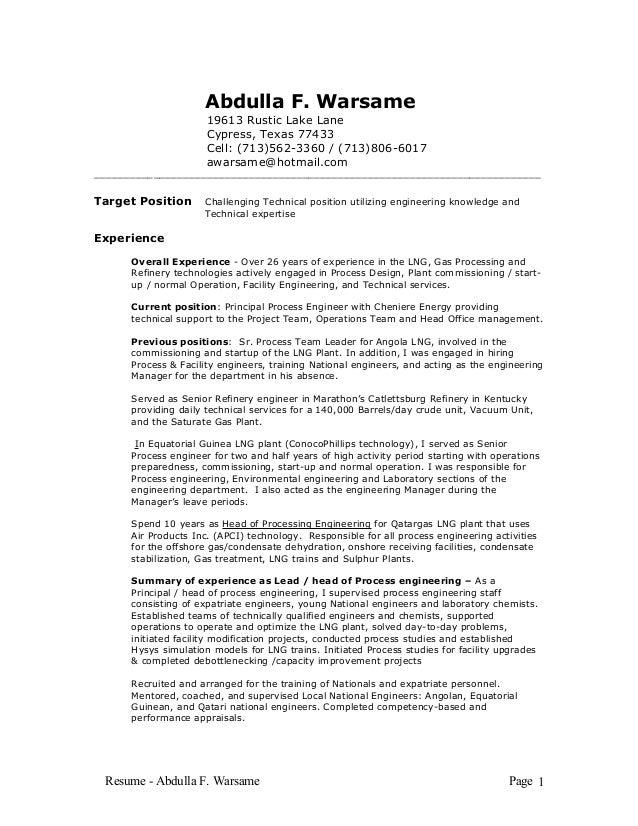 Resume-Warsame March 2016