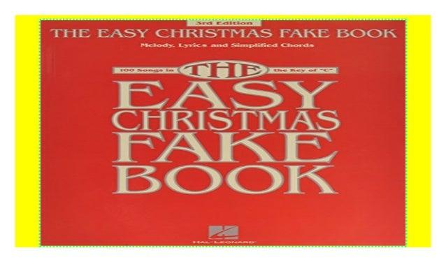 Fake book pdf christmas