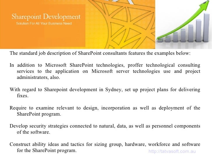 Sharepoint Developer Responsibilities Sharepoint Developer Job