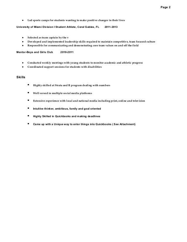 gionni paul revise resume