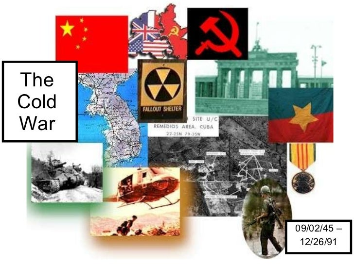The  Cold  War  09/02/45 – 12/26/91