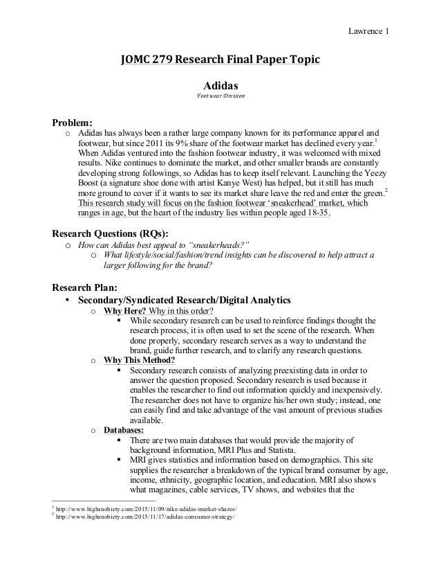 black market research paper