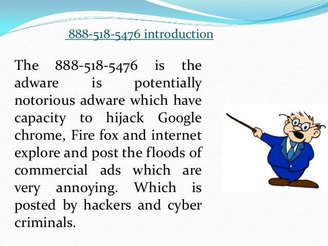 How to Uninstall/Block 888-518-5476 from PC Slide 3