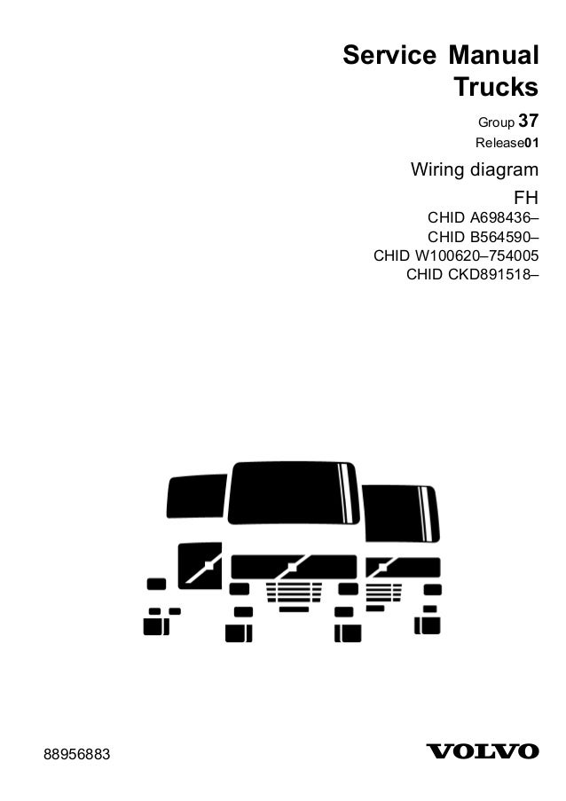 Volvo Wiring Diagram Fh. Service Manual Trucks Group 37 Release01 Wiring Diagram Fh Chid A698436 B564590. Volvo. Volvo Auto Diagram At Scoala.co
