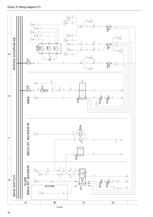 volvo vnl truck wiring diagrams headlight semi truck