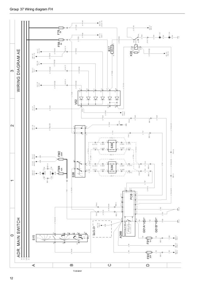 Volvo Wiring Diagram Fh. Group 37 Wiring Diagram Fh T3059891 12. GM. Volvo GM 1990 Fuse Box Diagram At Scoala.co