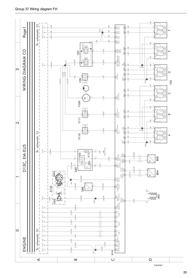 volvo penta engine wiring diagram model 190a  volvo  auto