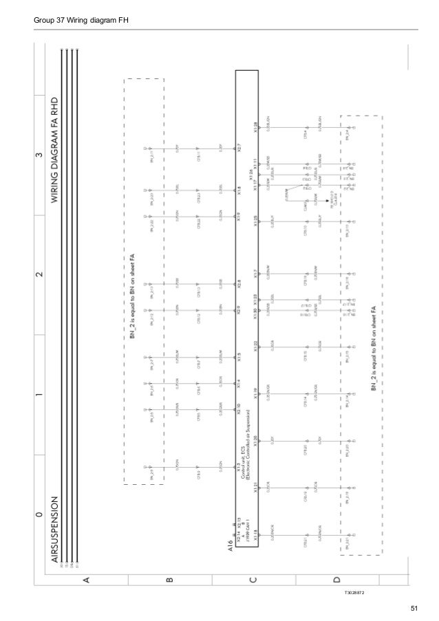 volvo wiring diagram fh group 37 wiring diagram fh t3028872 51