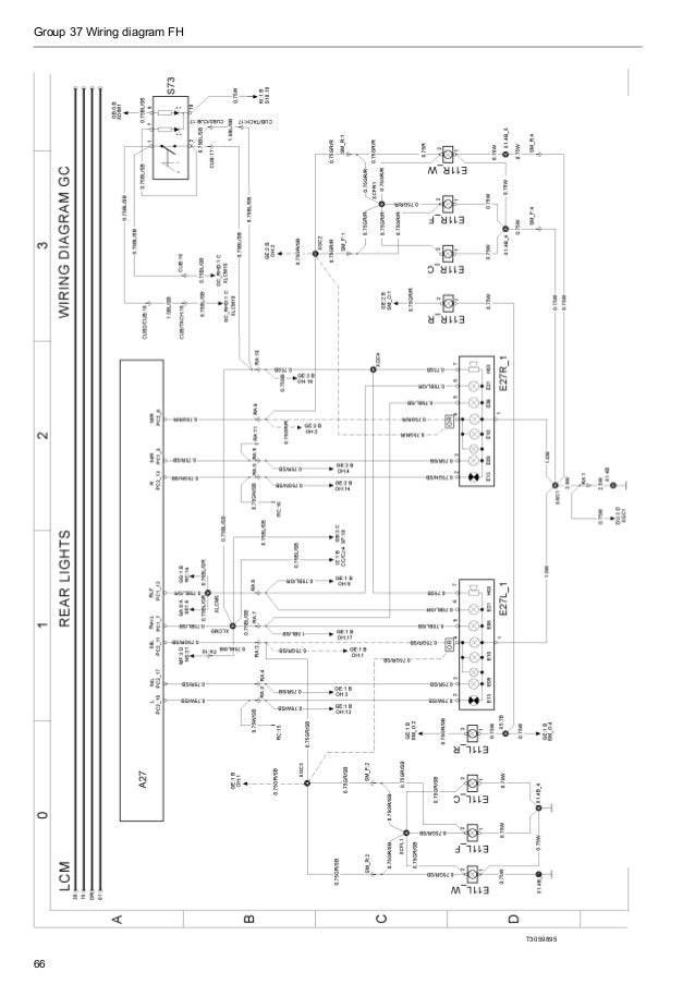 Lighting Wiring Diagram 1999 Volvo Wg64 • Wiring Diagram