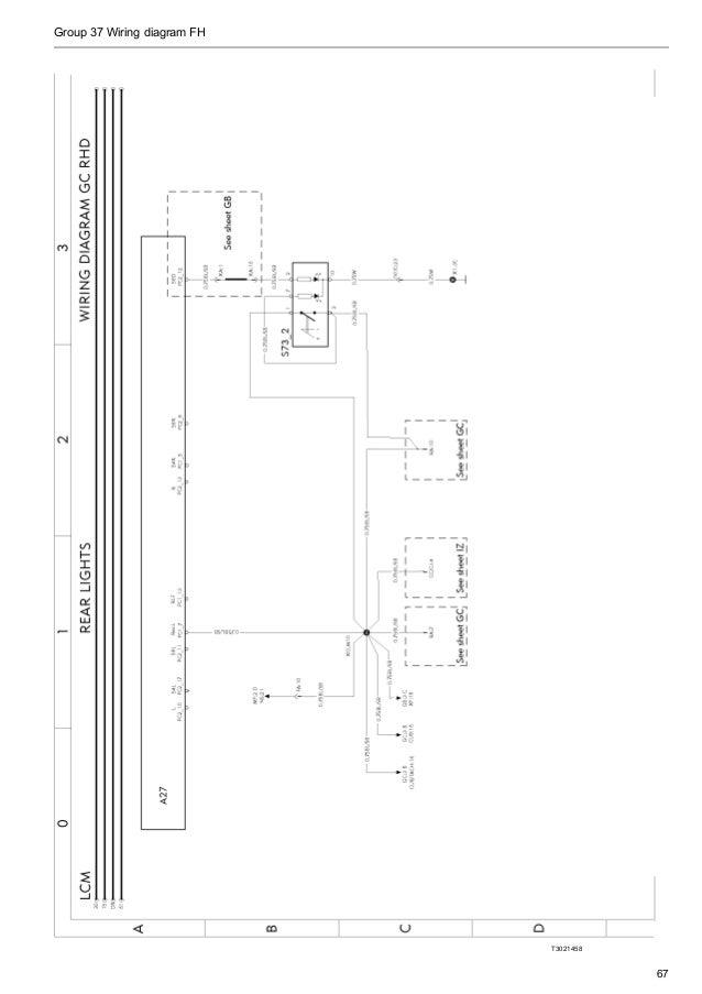 volvo wiring diagram fh rh slideshare net Volvo Truck D13 Fuel System Volvo VNL Wiring-Diagram