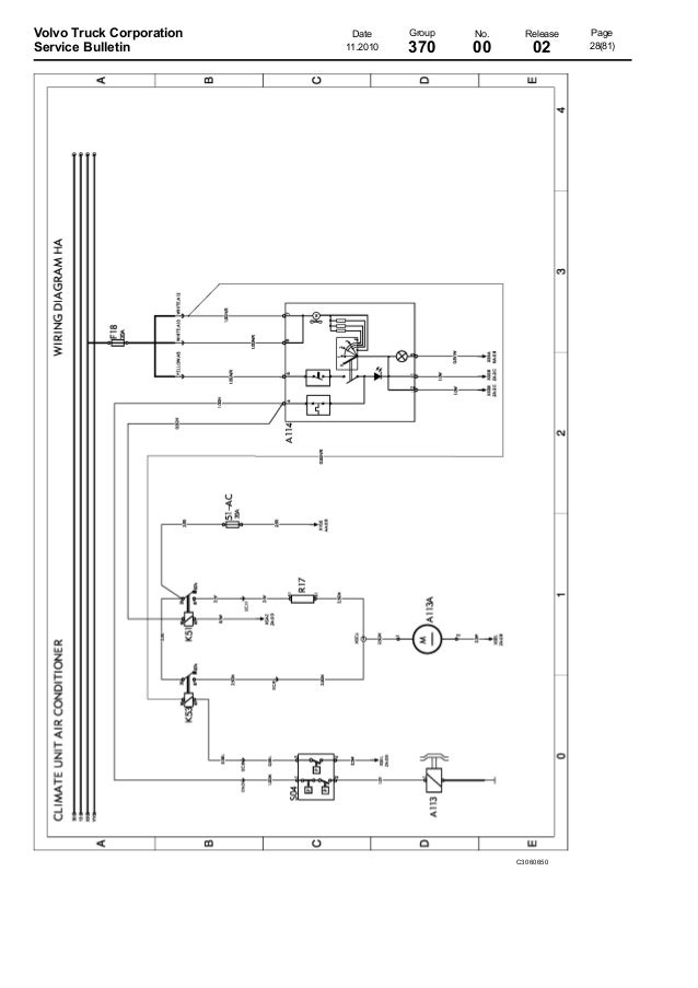 volvo wiring diagram vmvolvo truck corporation