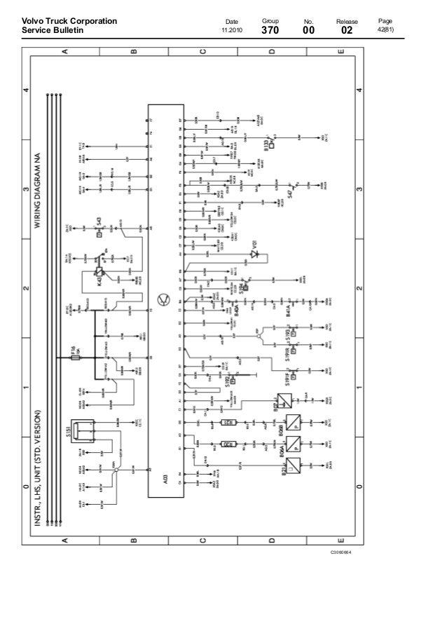 Volvo Wiring Diagram Vm Volvo Vnl 670 Wiring Diagram Volvo Truck Relay Location Volvo Truck Electrical Schematics