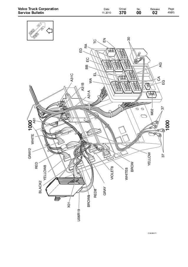 volvo truck air horn wiring diagram