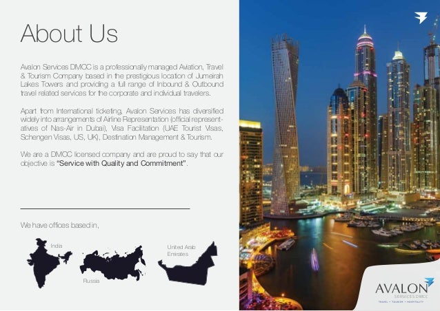 SERVICES DMCC We Offer You, INTELLIGENT TECHNOLOGY CORPORATE TRAVEL MANAGEMENT FLEXIBLE CREDIT FACILITIES + ONLINE PAYMENT...