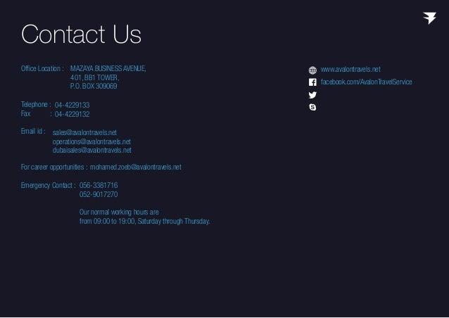 Avalon Travel Services - Company Profile
