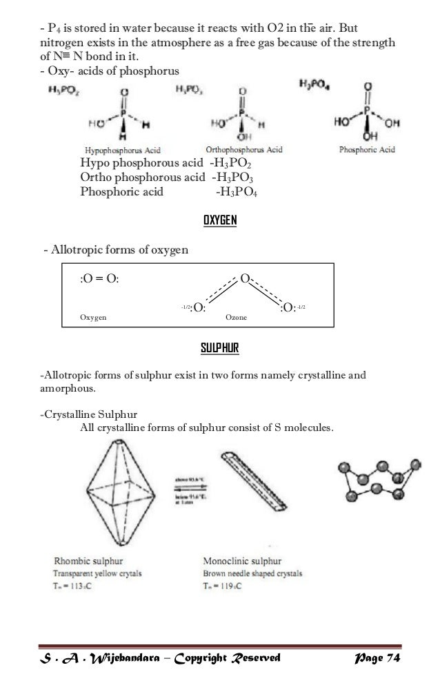 CHAPTER 11 The pblock elements  Ncert Help