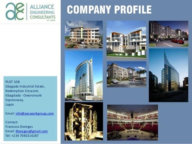 Engineering Consultancy Profile : Aec company profile