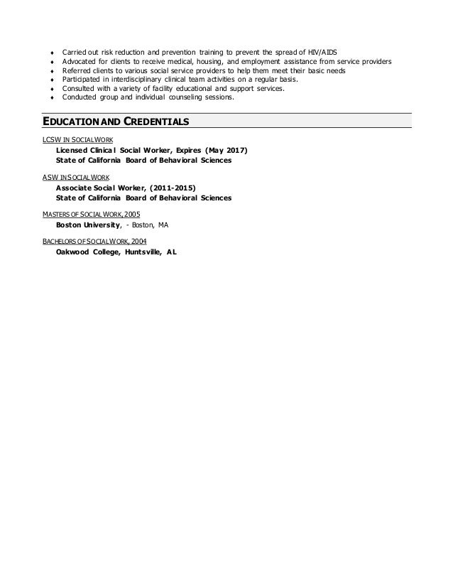 Social Service Resume Template Medium size Social Service Resume Template  Large size