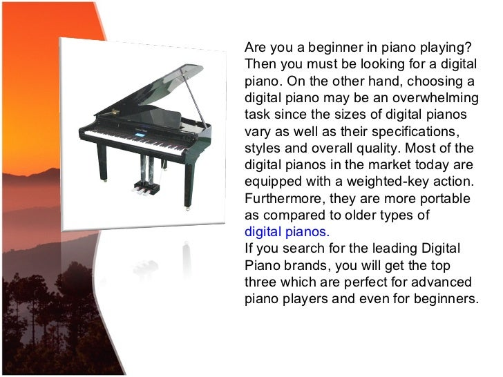 88 key digital piano review of three leading piano brands. Black Bedroom Furniture Sets. Home Design Ideas