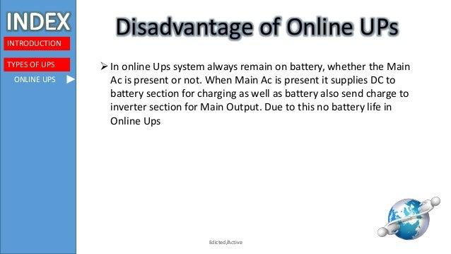 presentation on UPs