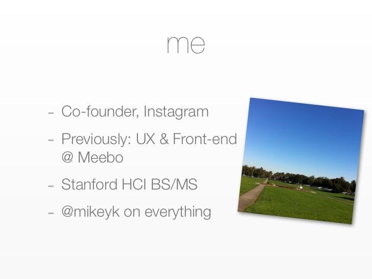 Scaling Instagram Slide 2