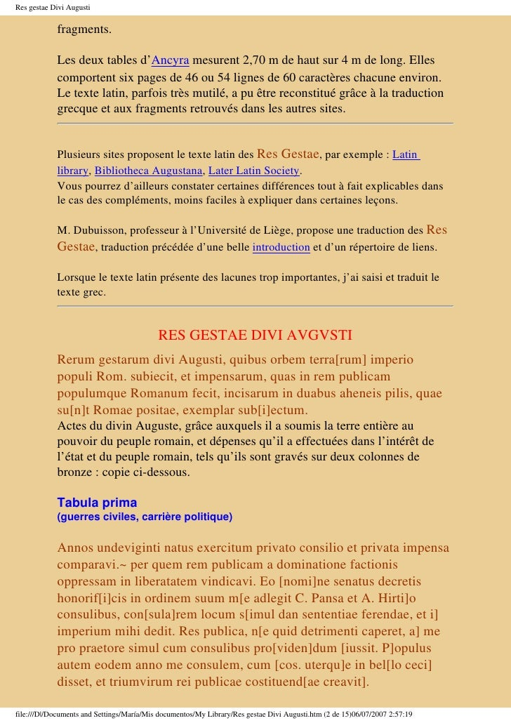 8915613 res gestae divi augusti - Res gestae divi augusti pdf ...