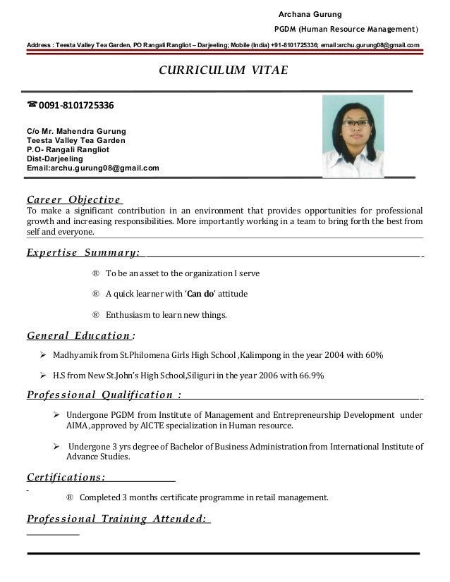 Homeopathy resume
