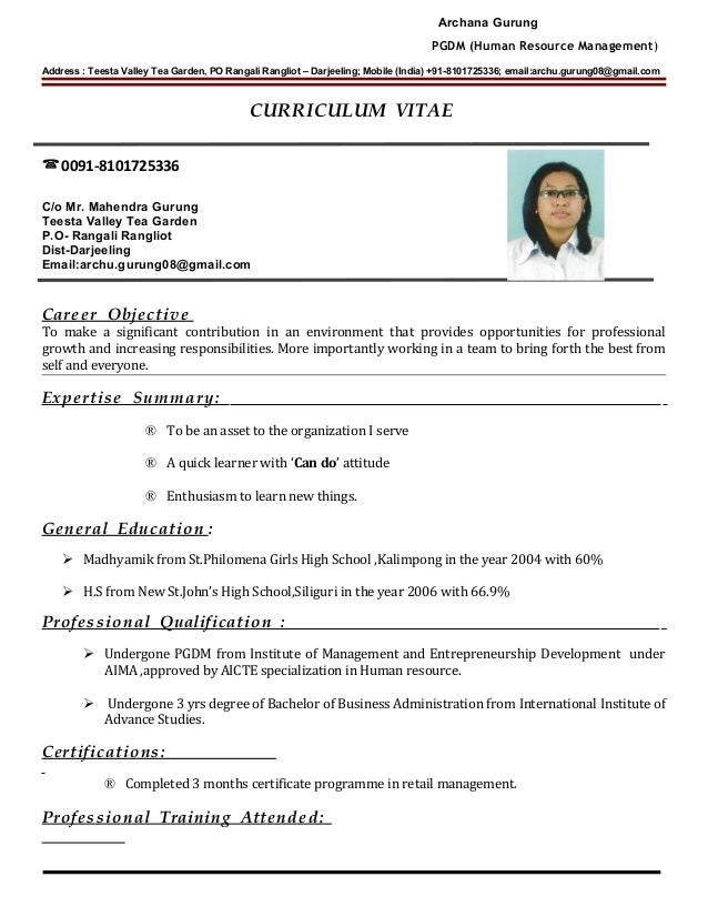 doctor cv