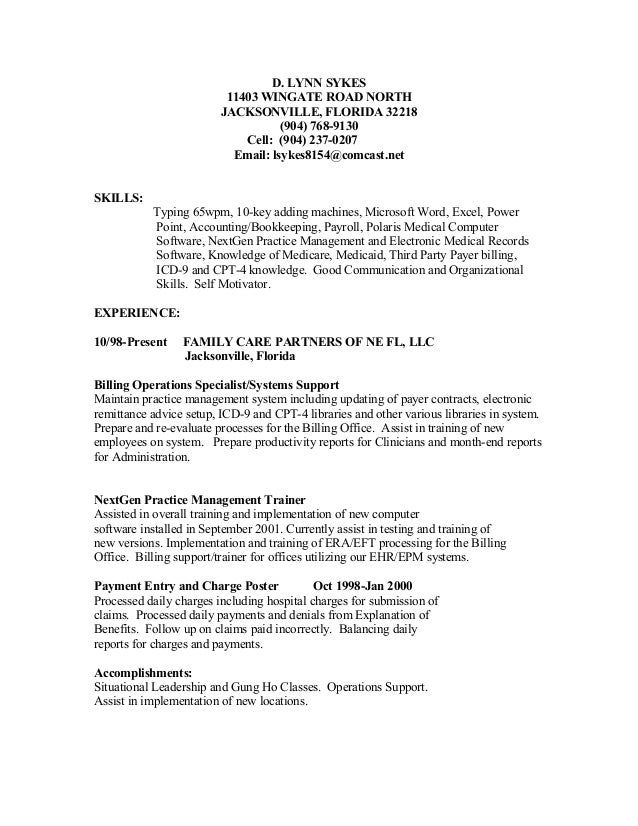 Cover Letter Examples For Medical Payment Poster