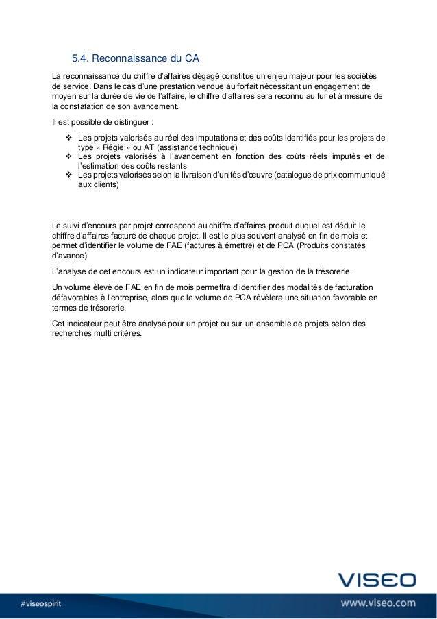 5.4. Reconnaissance du CA La reconnaissance du chiffre d'affaires dégagé constitue un enjeu majeur pour les sociétés de se...