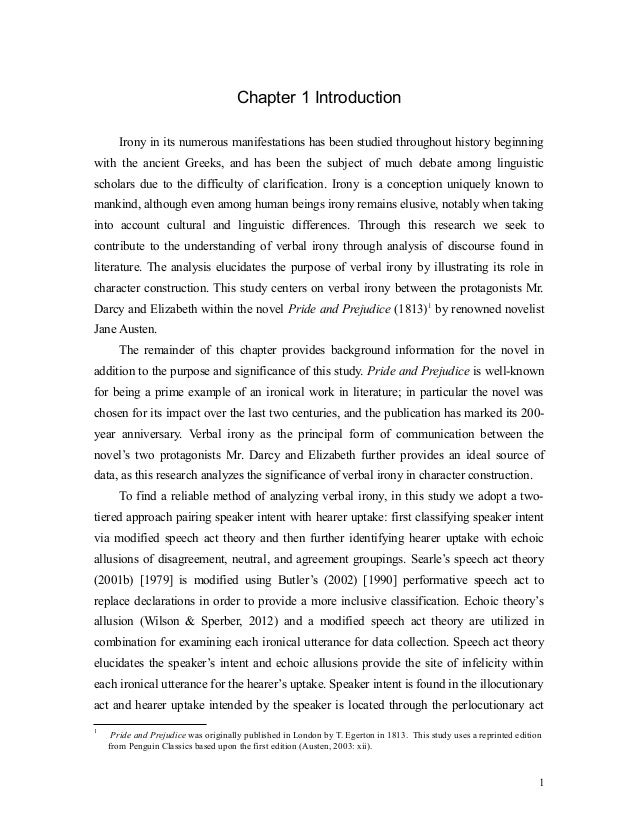 thesis chapter 1 conclusion Guidelines for writing a thesis or dissertation,  chapter 1: purpose and significance of the study  the thesis or dissertation ends with a brief conclusion that .