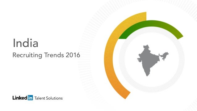 India Recruiting Trends 2016