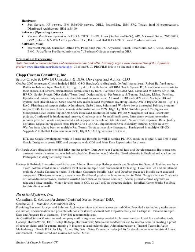 Owb resume