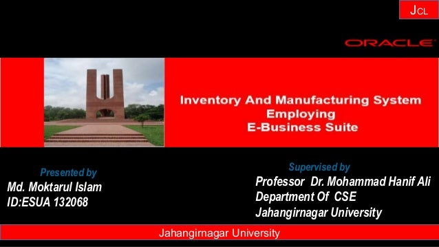 Janhangirnagar University JCL Presented by Md. Moktarul Islam ID:ESUA 132068 Jahangirnagar University Supervised by Profes...