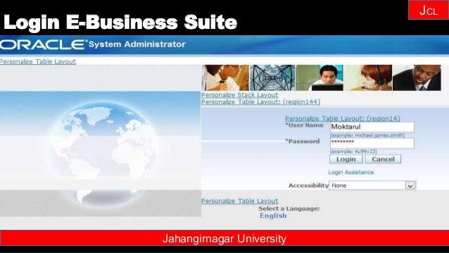 Janhangirnagar University JCL Jahangirnagar University Login E-Business Suite