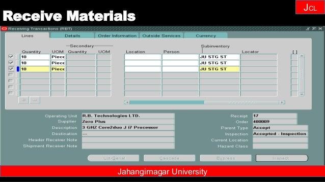 Janhangirnagar University JCL Jahangirnagar University Receive Materials