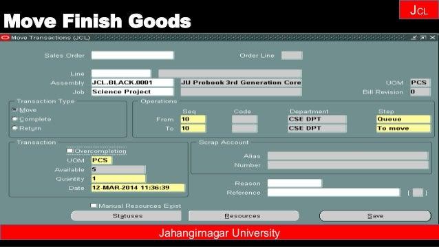 Janhangirnagar University JCL Jahangirnagar University Move Finish Goods