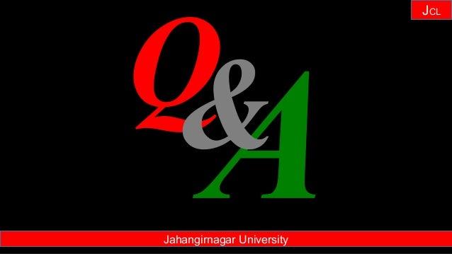 Janhangirnagar University JCL Jahangirnagar University